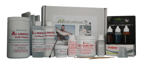 Make Lure Soft Bait kit