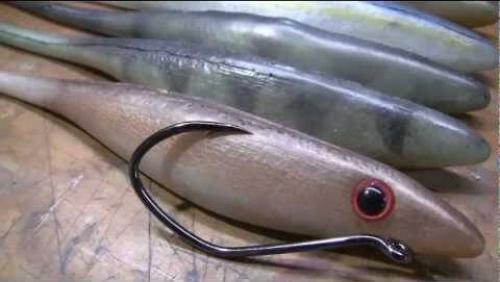 Embedded thumbnail for Big Weedless Muskie Lures